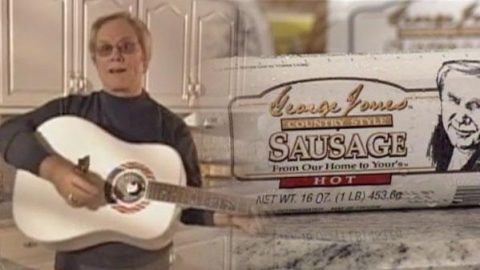 George Jones' Country Sausage Promo | Country Music Videos