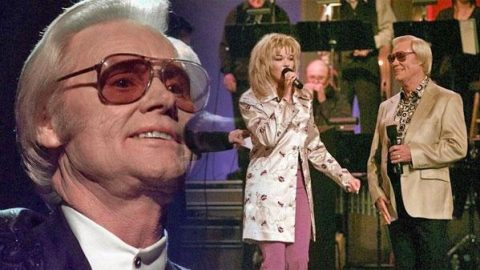 George Jones, Randy Travis, and Leann Rimes  (1997 TNNMCN Awards Opening) | Country Music Videos