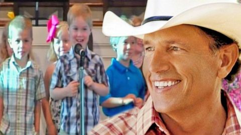 The Cutest Four Year-Old Recites Bible Names & Some George Strait | Country Music Videos