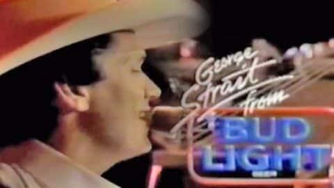 George Strait – Bud Light Promo (circa 1990) (VIDEO)   Country Music Videos