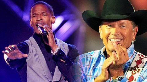 Jamie Foxx Delivers Flawless George Strait Tribute In Star-Studded Special | Country Music Videos