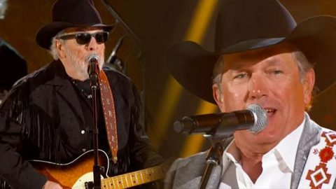 George Strait & Merle Haggard – The Fightin' Side Of Me (LIVE) (VIDEO)   Country Music Videos