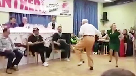 Elderly Couple Competes In Swing Dance Competition | Country Music Videos
