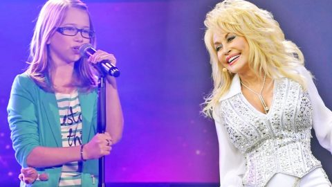 13-Year-Old German Girl Covers Dolly Parton's 'I Will Always Love You' On The Voice | Country Music Videos