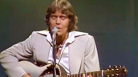 Glen Campbell's Talent Shines In Radiant Performance Of Lone Star Anthem 'Galveston'   Country Music Videos