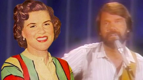 Glen Campbell Covered Patsy Cline's 'Crazy,' And It's As Remarkable As You'd Expect | Country Music Videos
