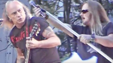 Remember When Skynyrd's Soundcheck For 'GMA' Was Almost Rowdier Than The Actual Show? | Country Music Videos