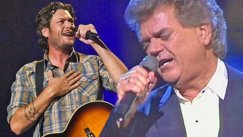 Conway Twitty and Blake Shelton Sing Emotional Ballad 'Goodbye Time' In Virtual Duet | Country Music Videos