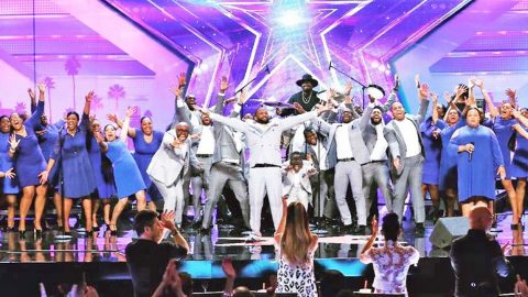 Gospel Choir Takes 'AGT' To Church With Phenomenal Cover Of Aerosmith Classic | Country Music Videos