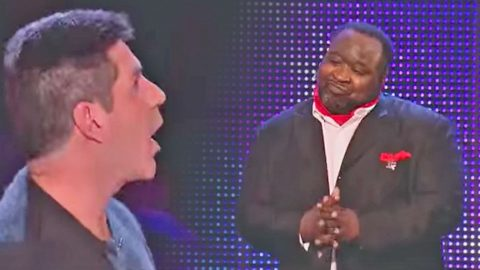 Contestant Blows Simon Cowell Away After The Judge Insults His Weight | Country Music Videos