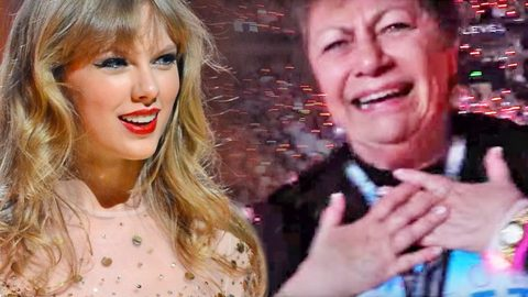 72-Year-Old Has Unbelievable Reaction To Taylor Swift's Surprise Guest | Country Music Videos