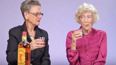 Grandmas Try Fireball Whisky For The First Time, And It's Hysterical | Country Music Videos