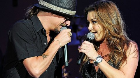Gretchen Wilson Stunned By Kid Rock During Recording Of Fiery New Duet | Country Music Videos