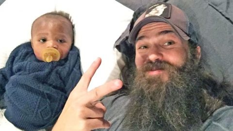 Watch Jep And Jessica Robertson's 'Baby Gus' Take His First Steps | Country Music Videos