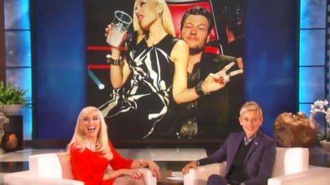 'I'm Having Lots Of Fun' – Gwen Stefani BLUSHES When Asked About Blake Shelton   Country Music Videos