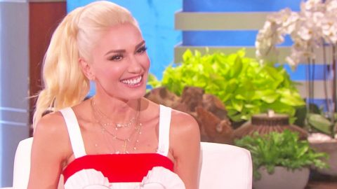 Gwen Stefani Gets Giddy Talking About Blake Shelton Wedding Rumors | Country Music Videos