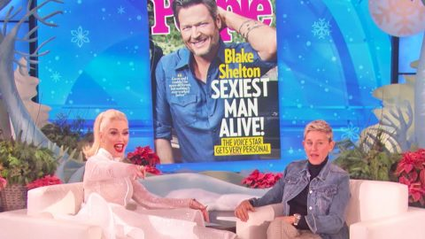 Gwen Stefani Reveals Why She Thinks Blake Shelton Is The 'Sexiest Man Alive'   Country Music Videos