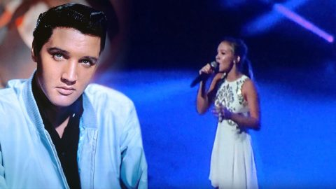 Young Girl Gives Jaw-Dropping Performance To Heavenly Elvis Ballad | Country Music Videos