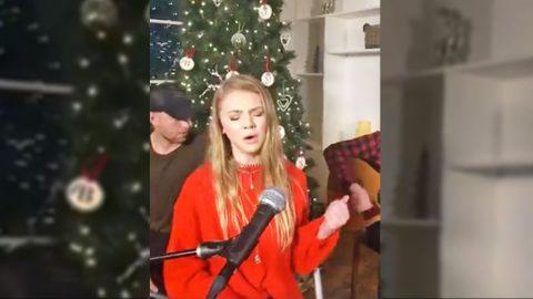 Teenage Country Singer Tegan Marie Returns To Spotlight With Breathtaking 'Hallelujah' | Country Music Videos