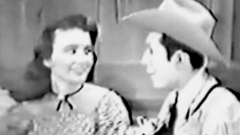 Extremely Rare Footage Surfaces Of Hank Williams Singing Romantic Duet   Country Music Videos