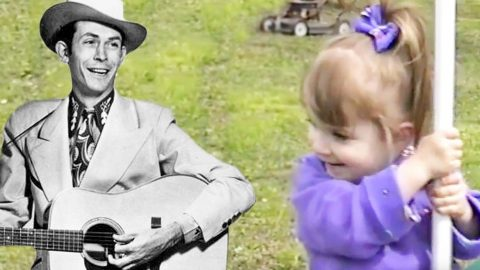 """Angelic 2-Year-Old Steals Hearts With Hank Williams' 'Hey, Good Lookin""""   Country Music Videos"""