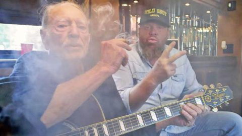 Willie Nelson Stars In Toby Keith's Blazing Video For 'Wacky Tobaccy' | Country Music Videos