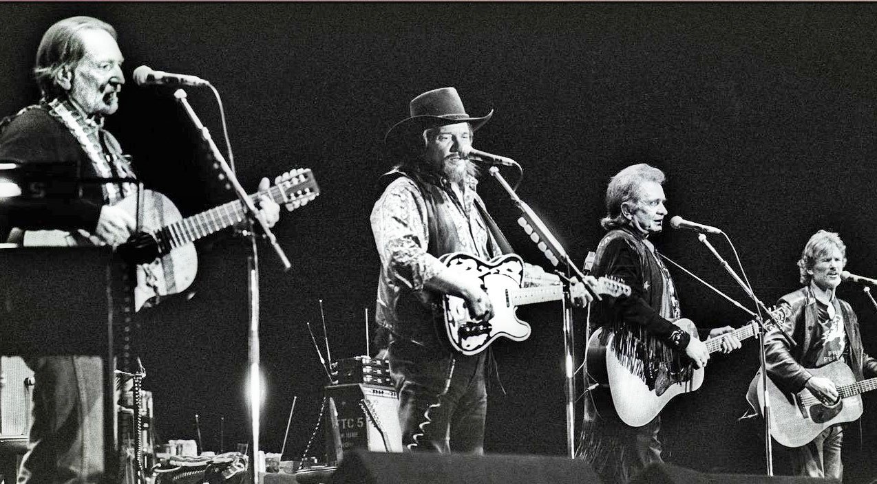The Highwaymen Pay Tribute To Guy Clark With Desperados Waiting For A Train Country Rebel