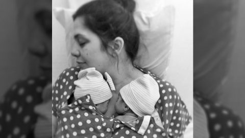 Why Lady Antebellum's Hillary Scott Said A 'Literal Prayer' About Her Twin Babies | Country Music Videos