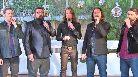 Home Free Reminds Us Of The Reason For The Season In Splendid Performance Of 'O Holy Night' | Country Music Videos