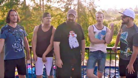 Home Free Dives Straight Into Fun-Lovin' A Cappella Cover Of Country Hit | Country Music Videos