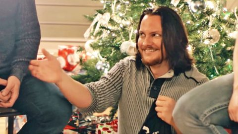 home free recruits friends family for fun filled white christmas video