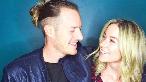 Florida Georgia Line's Tyler Hubbard & Wife Reveal Baby's Gender In Sweetest Way | Country Music Videos
