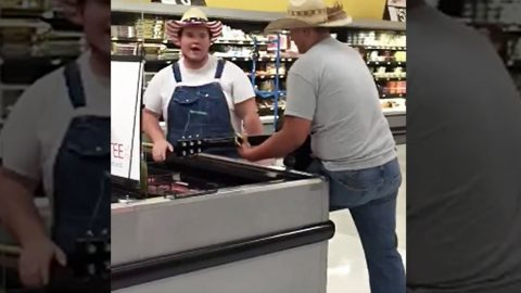 Country Boys Take To Walmart Frozen Meats To Give Epic Cover Of Country Hit | Country Music Videos