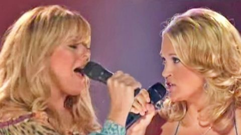 FLASHBACK: Carrie Underwood & Jamie O'Neal Stun In Passionate Cover Of Reba Classic | Country Music Videos