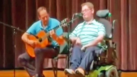 Inspiring 16-Year-Old Stuns School Talent Show With Randy Travis' 'I Told You So' | Country Music Videos