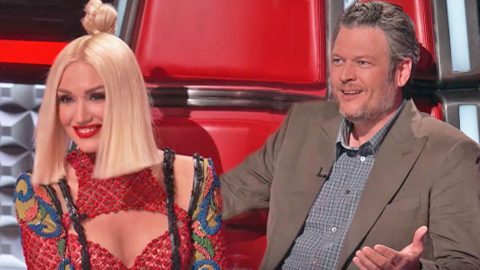 Blake Shelton Becomes Jealous When Gwen Gets Hot And Bothered By 'Voice' Contestant | Country Music Videos