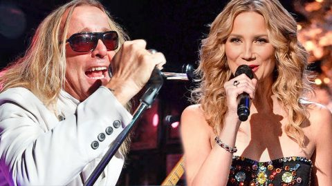 Jennifer Nettles And Cheap Trick Team Up For EPIC Performance Of 'I Want You To Want Me'   Country Music Videos