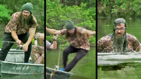 Jep Robertson Attempts To Teach His Daughters How To Fish, But It Doesn't Go As Planned | Country Music Videos