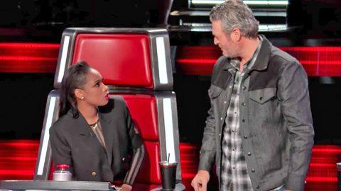 Blake Shelton & Jennifer Hudson Hilariously Go Back And Forth With Brutal Banter   Country Music Videos