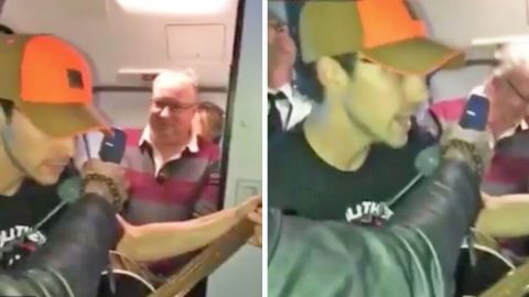 Passenger Breaks Out Into Tom Petty Classic Over Plane's Speaker After Being Stranded For Hours | Country Music Videos