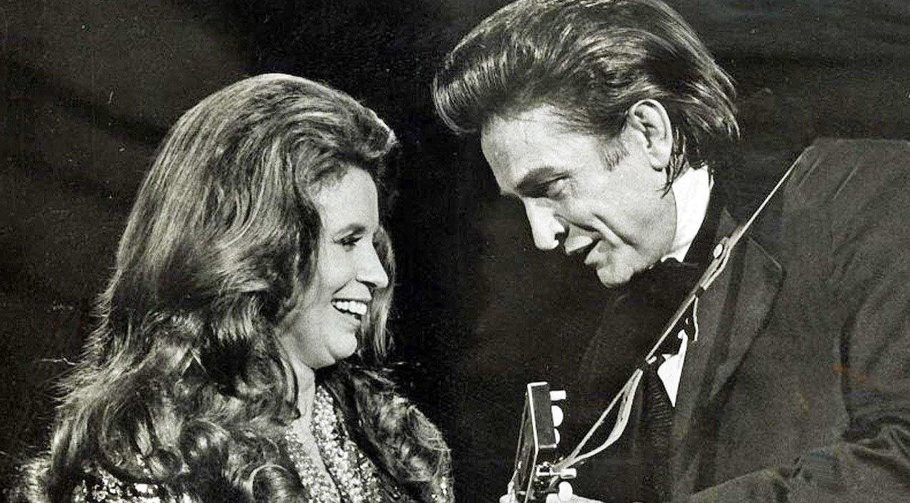 johnny cash june carter s chemistry fills the stage during jackson performance country rebel. Black Bedroom Furniture Sets. Home Design Ideas
