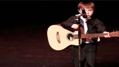 4-Year-Old Johnny Cash Impersonator Singing 'Ring Of Fire' | Country Music Videos