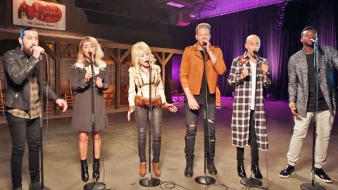 Dolly Parton Joins Pentatonix For An A Cappella Twist On 'Jolene' | Country Music Videos
