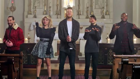 A Capella Group's Christmas Cover Is The Sheer 'Joy' We Need This Holiday Season | Country Music Videos