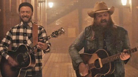 Chris Stapleton And Justin Timberlake Drop Infectious New Duet, 'Say Something' | Country Music Videos