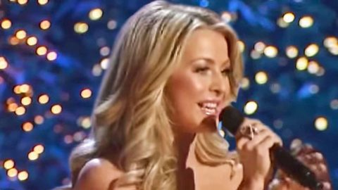 Julianne Hough Delights With Cheerful Cover Of Christmas Classic | Country Music Videos