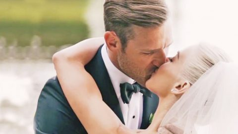 Julianne Hough & Brooks Laich's First Look Is What Dreams Are Made Of | Country Music Videos