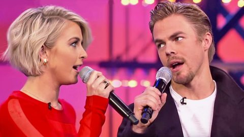 Julianne & Derek Hough Square Off In Hysterical Lip Sync Battle | Country Music Videos