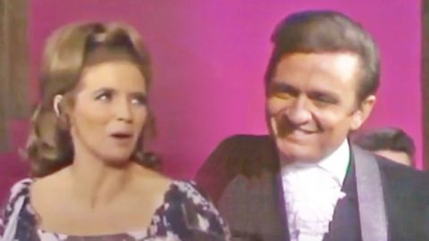June Carter & Johnny Cash Can't Keep Their Eyes Off Each Other In Flirty Performance Of 'Jackson' | Country Music Videos