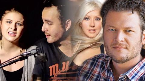 "YouTube Duo's Stunning Cover Of Blake Shelton and Christina Aguilera's ""Just A Fool"" 